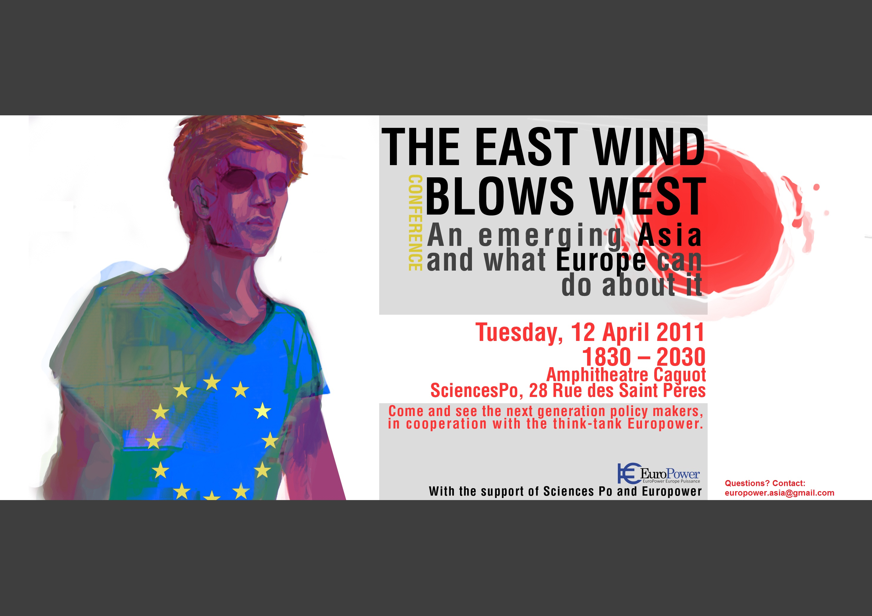 Poster TheEastWindBlowsWest